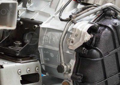 Audi R8 reparación caja de cambios GeBox