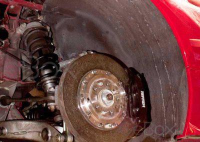 Reparación Ferari 458 en GeBox caja de cambios