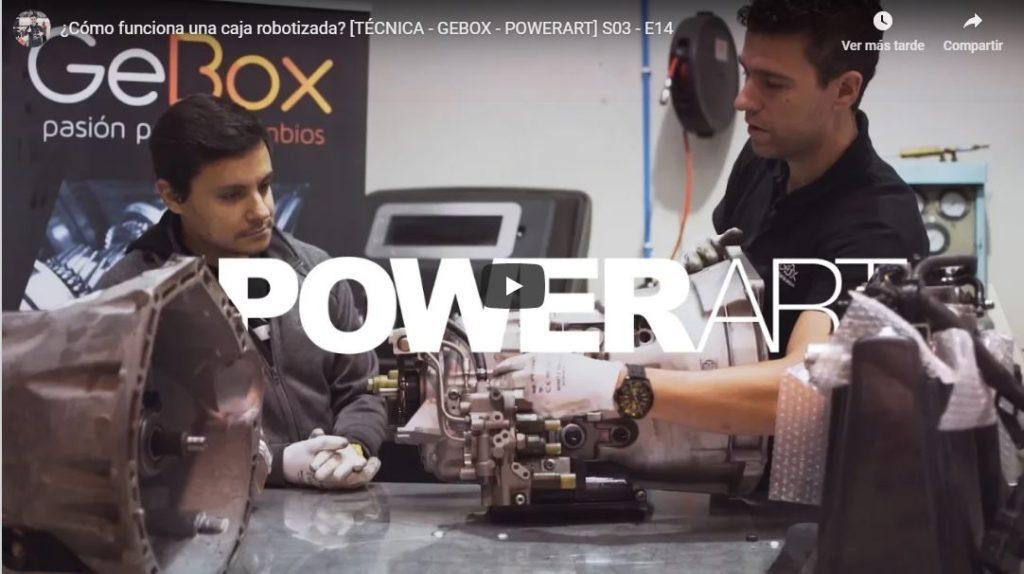 Caja de cambio robotizada GeBox