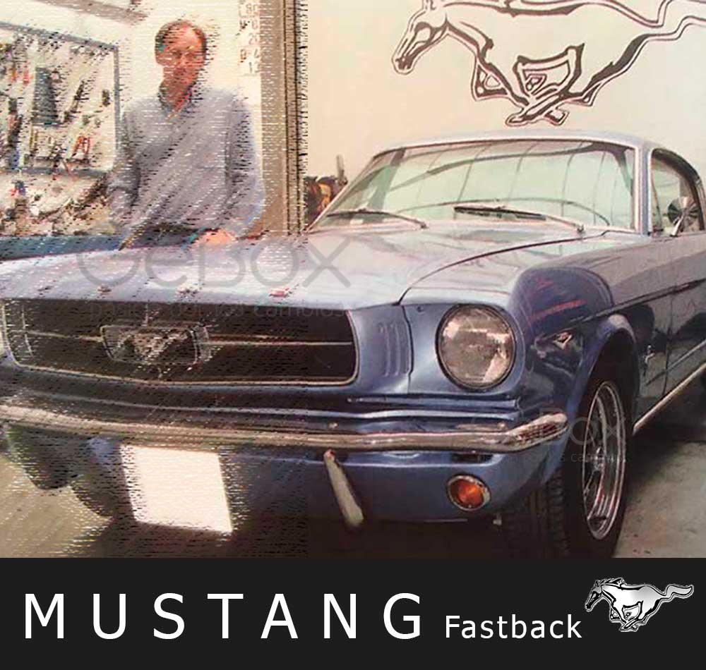 GeBox Mustang fastback