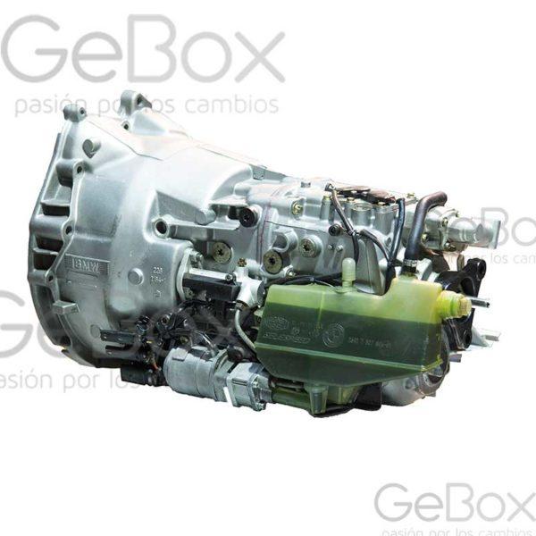 bmw SMG caja manual pilotada gebox